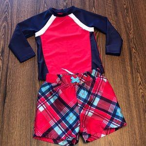 18 Month Boys 2-Piece Swim Suit set
